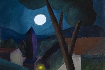 Salvo, 2010, olio su tela, 40x30 cm