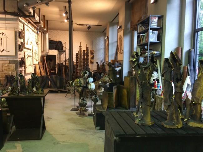 Lo studio di Maria Cristina Carlini, Milano