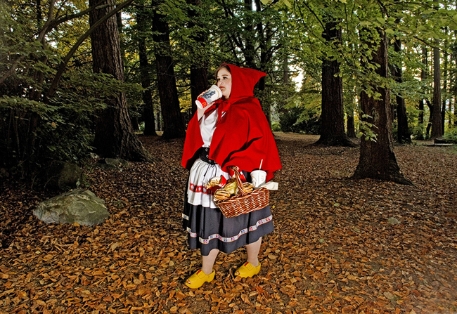 © Dina Goldstein, Red Riding Hood
