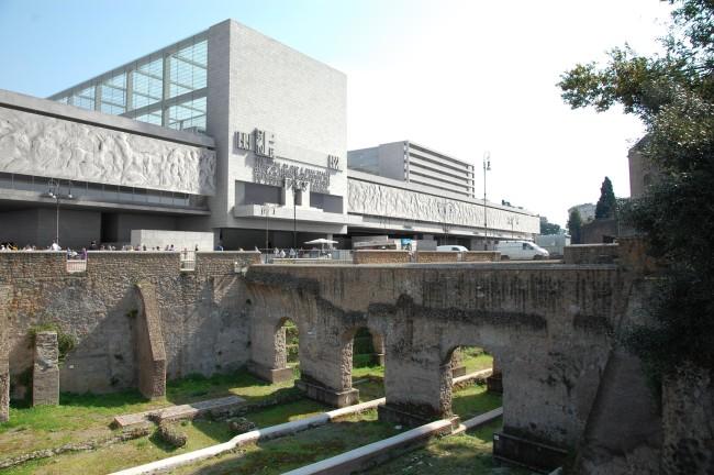 Giuseppe Terragni_Progetto con inserimento nel contesto urbano_credits Casa dell'Architettura di Roma
