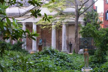 Roberto Sebastian Matta. Sculture  Giardino di Palazzo Soranzo Cappello. Foto: Michele Alberto Sereni