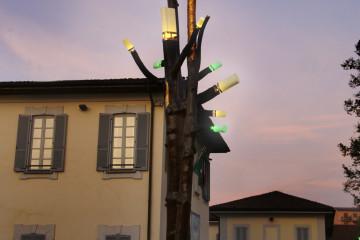Claudio Onorato, Albero delle luci, Carugate (MI)