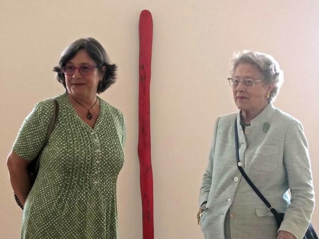 Giuseppina Panza e la madre Rosa Giovanna Magnifico