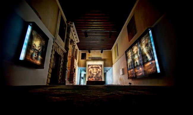 Dancing makes me joyful, veduta installazione, Palazzo Flangini, Venezia, Foto: Trey Ratcliff