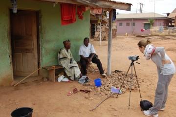Maria Rebecca Balestra, Journey into Fragility, Abetenim Village (Ghana) intervista a un membro anziano del villaggio sul tema dei taboo