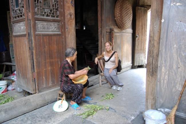 Maria Rebecca Balestra, Journey into Fragility, Fuyang (Cina) visita a un viìallaggio tradizionale cinese