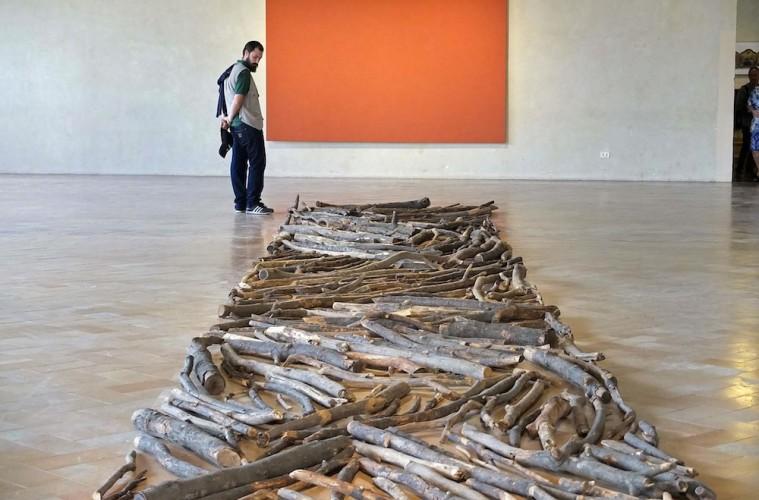 La percezione del futuro. La Collezione Panza a Perugia, veduta dell'allestimento, Galleria Nazionale dell'Umbria, Perugia