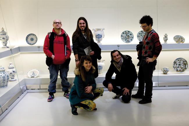 Gli artisti con G. Anselmo e L. Bochicchio - Savona, Museo della Ceramica