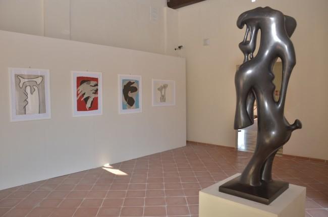 Agustin Cárdenas e la Negritudine, veduta della mostra, CAP Centro Arti Plastiche, Carrara (MS) Foto Lapo Cozza
