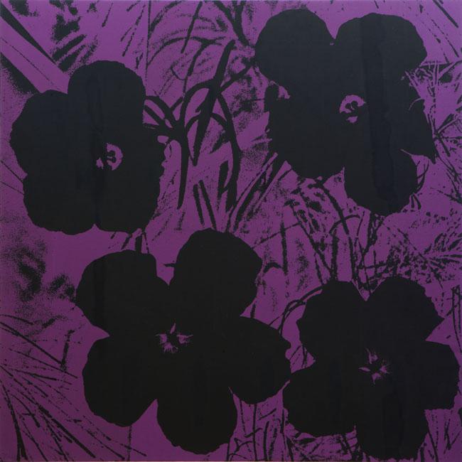 Andy Warhol, Flower. Dalla mostra Sturtevant Sturtevant, Museo Madre, Napoli