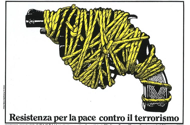 Massimo Dolcini, Congresso provinciale dell'A.N.P.I, 1980, serigrafia