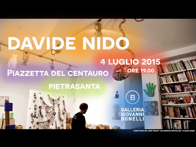 invito Davide Nido, SABATO 4 LUGLIO 2015