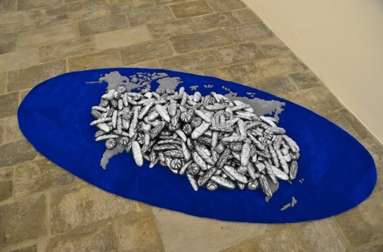 Chiara Dynys, Pane Al Mondo, veduta dell'installazione