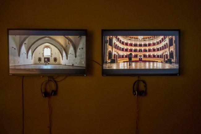 A Sicilian Walk, Fabbriche Chiaramontane (Ag), opere di Alessandro Librio. Foto: Angelo Pitrone