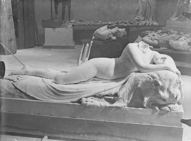 Antonio Canova, Naiade Foto di Stefano Serafin, 1918
