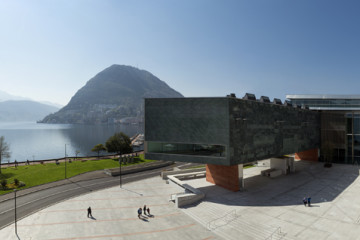 LAC Lugano Arte Cultura L'edificio visto dall'esterno © LAC 2015 – Foto Studio Pagi