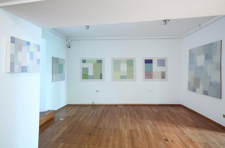 Pregnanza del colore: Nataly Maier, veduta della mostra, Fondazione Antonio e Carmela Calderara, Vacciago di Ameno (NO)