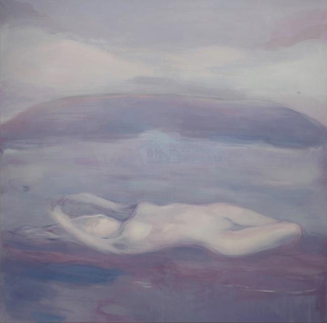 SATURNO-Notturno-2015-Acrilico e olio su tela-180x180cm