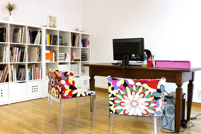 Ufficio - nuova sede congiunta di CSArt - Comunicazione per l'Arte e ClubArt - the modern art community, foto Corrado Moscardini
