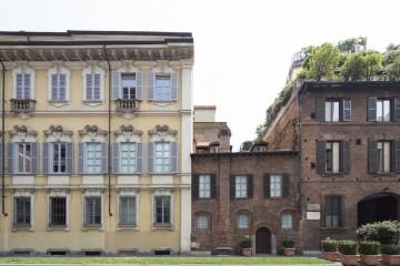 Casa Parravicini, via Cino del Duca 4, Milano, sede della Fondazione Carriero Foto Agostino Osio