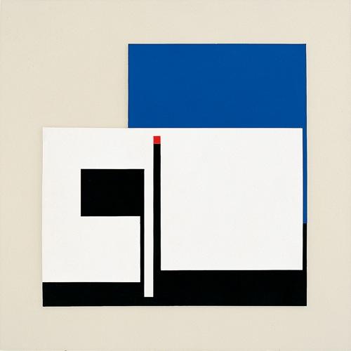 Bruno Munari, Senza Titolo, 1953, acrilico e tempera su cartone, 67x67 cm