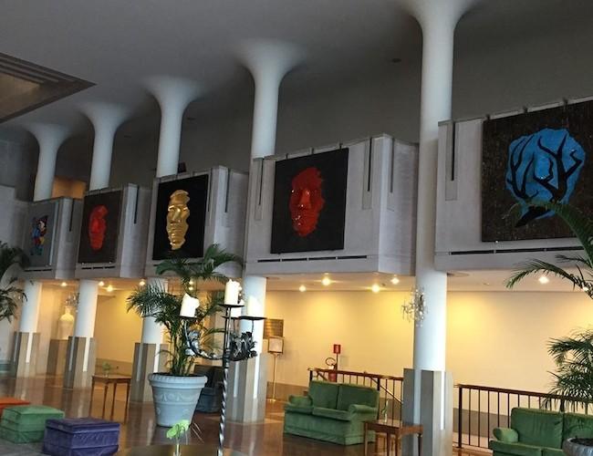 Svetlana Ostapovici. Identification, veduta dell'allestimento, Hotel Excelsior, Venezia Lido