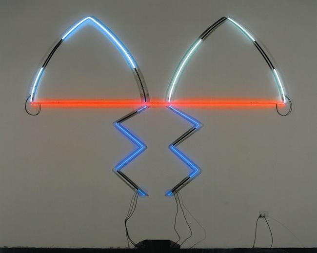 Keith SONNIER, Florentine Neon#1,1983