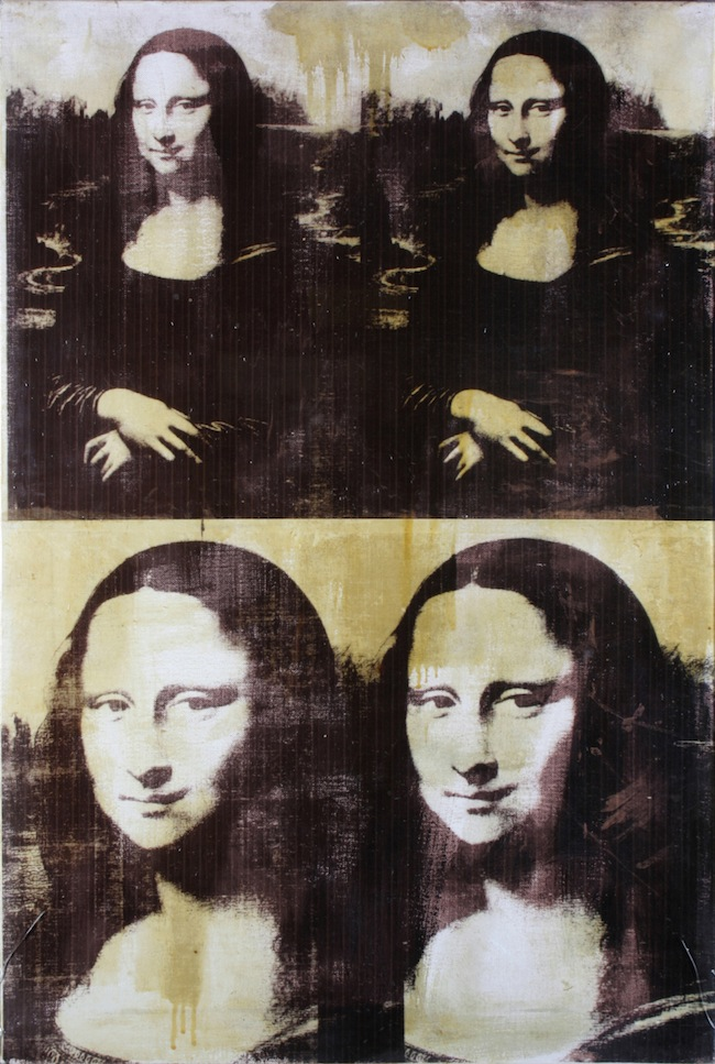 Andy WARHOL, Mona Lisa-Four Times,1979