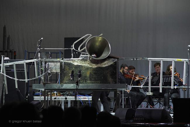 Festival Transart- Einstürzende Neubauten  - PH Gregor Khuen Belasi