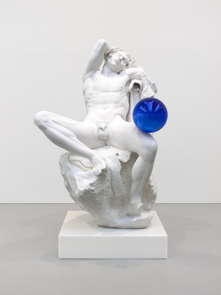 Jeff Koons, Ganzing Ball - Barberin Faun