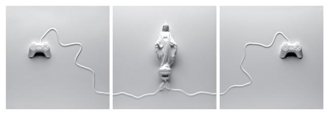 Gino Sabatini Odoardi, Senza titolo, 2010, termoformatura in polistirene, cm 70x210x10