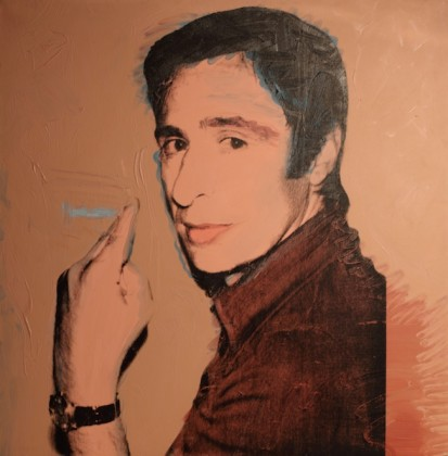Andy Warhol, Portrait of Giuliano Gori, 1974
