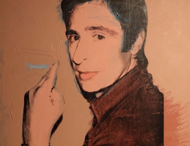 Andy Warhol, Portrait of Giuliano Gori, 1974