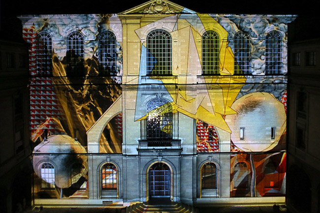 Mapping Festival, Ginevra, 2012