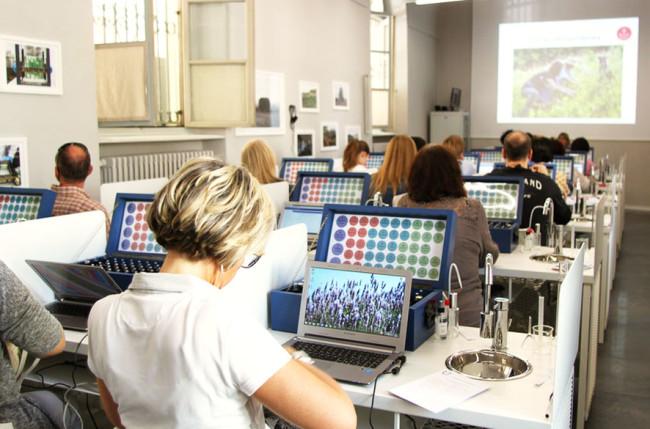 MÚSES: ACCADEMIA EUROPEA DELLE ESSENZE, Savigliano (CN), veduta laboratorio