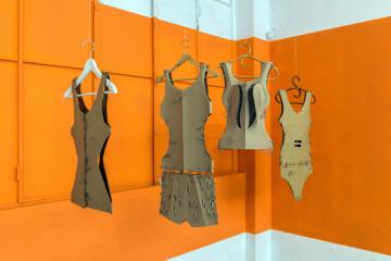 veduta della mostra Forme e Anti-Forme. Foto: Christian Parravicini.