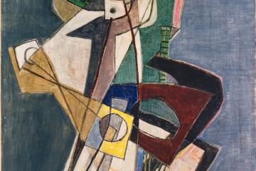 Afro, Tenaglia e camera oscura, 1949, Collezione Verzocchi