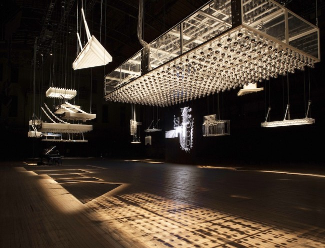 "Philippe Parreno, Danny The Street, 2015, (detail) Exhibition view ""Philippe Parreno H {N)Y P N(Y} OSIS"", Park Avenue Armory, New York Courtesy Pilar Corrias, Barbara Gladstone, Esther Schipper Photo © Andrea Rossetti"