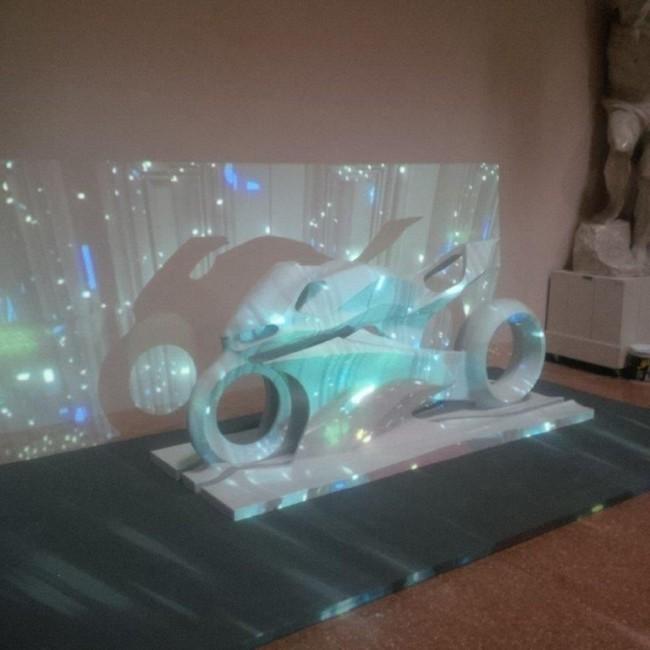 Dinamica. Veduta dell'installazione (1). Accademia di Belle Arti di Bologna