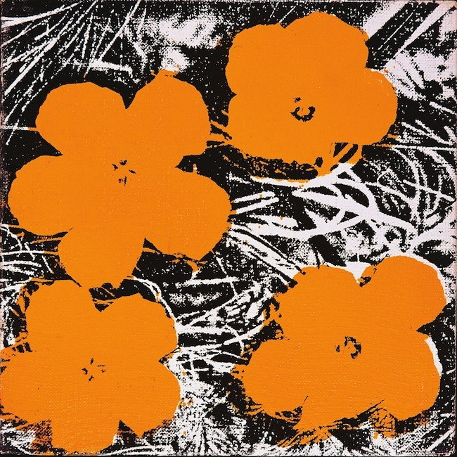 Andy Warhol, Flowers, 1965, © The Andy Warhol Foundation for the Visual Arts, Inc. / ADAGP, Paris 2015
