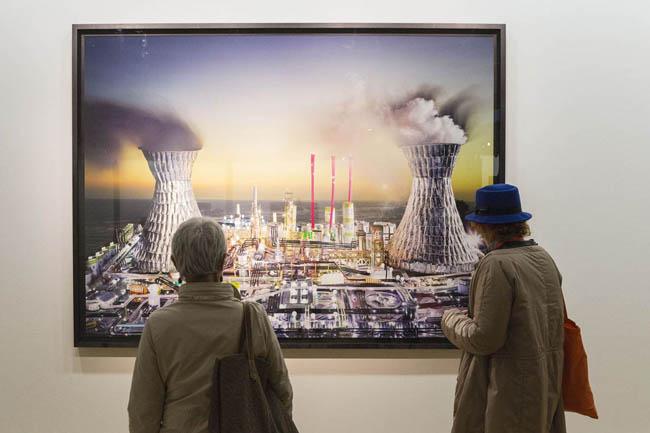 FotoIndustria 2015, veduta dell'allestimento, LaChapelle © Rocco Casaluci, 2015