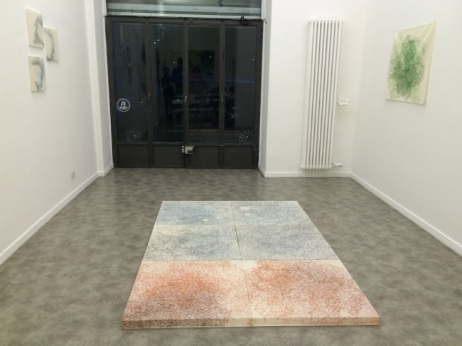 Asako Hishiki. Simbiosi armoniche. 調和振動する共生空間, veduta della mostra, Galleria Paraventi Giapponesi - Galleria Nobili, Milano