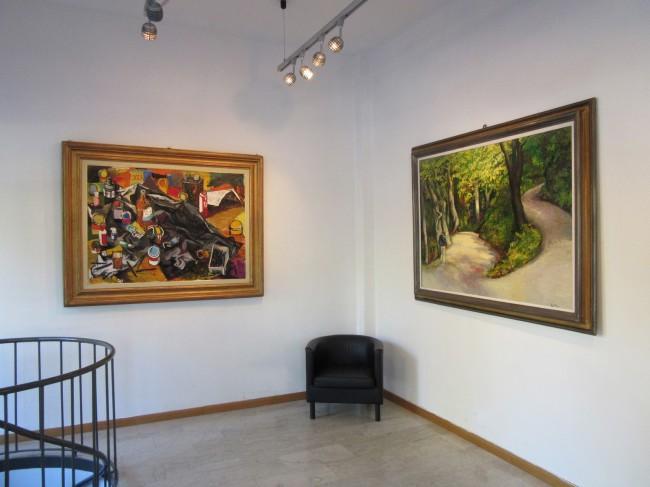 Galleria de' Bonis, Veduta allestimento, Renato Guttuso