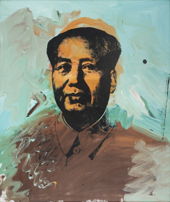 Andy Warhol, Mao, 1973, Fondation Carmignac, © Fondation Carmignac – Photo: Thomas Hennocque, © The Andy Warhol Foundation for the Visual Arts, Inc. / ADAGP, Paris 2015