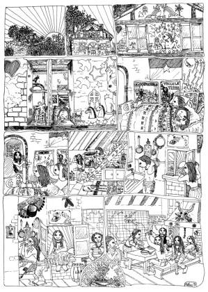 Matteo Guarnaccia, Minestrone Again, in AA. VV., Vivere insieme! (Il libro delle comuni), Arcana, 1974