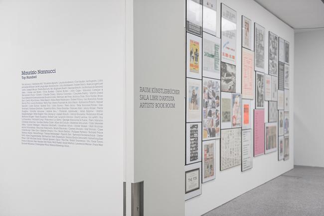 Maurizio Nannucci, Top Hundred, Museion 2015. Foto Luca Meneghel, Courtesy Archivio Zona Maurizio Nannucci
