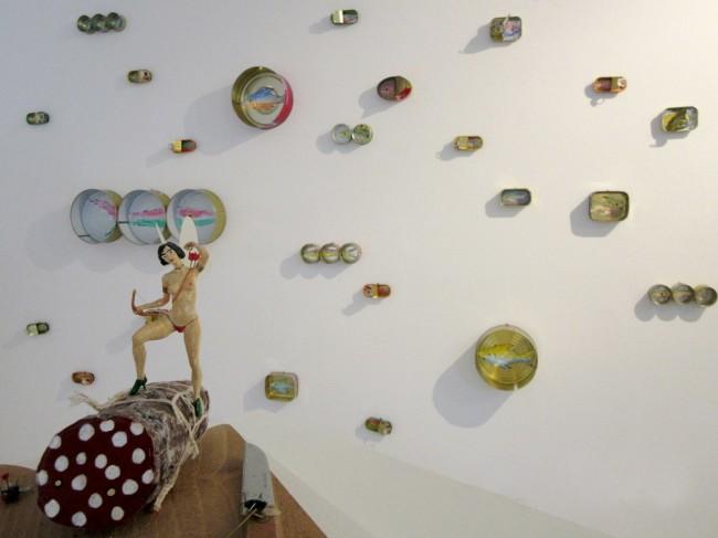 RezArte Contemporanea, The Art of Food Valley, veduta allestimento, Corrado Bonomi