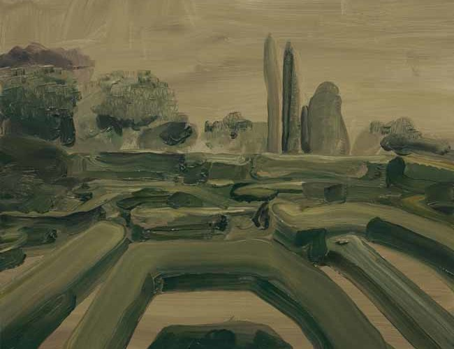 Rudy Cremonini, Educazione#6, cm40x50, oil on linen, 2015