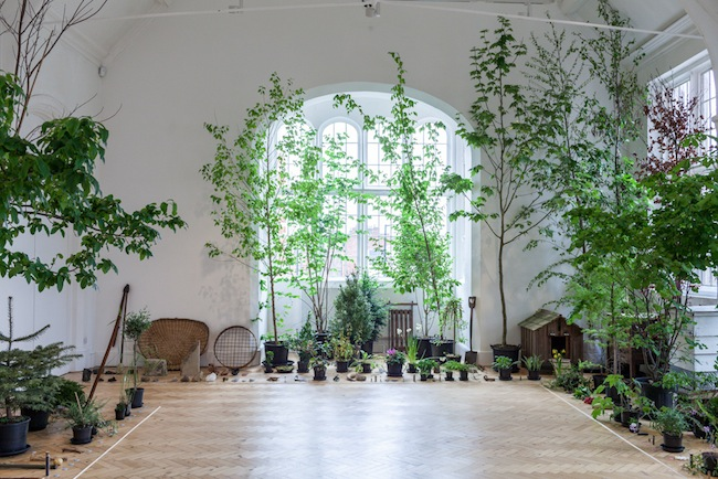Ruth Ewan, Installation view, Back to the Fields (2015) at Camden Arts Centre, London Courtesy the artist