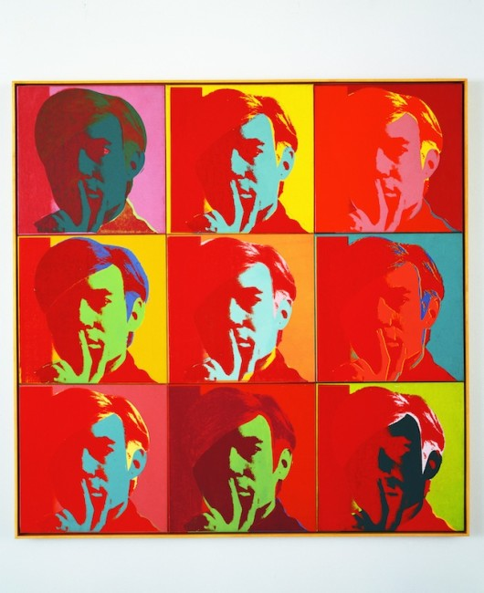 Andy Warhol, Self-Portrait, 1966, New York, Museum of Modern Art (MoMA), Gift of Philip Johnson, © 2015 Digital Image, The Museum of Modern Art, New York/Scala, Florence, © The Andy Warhol Foundation for the Visual Arts, Inc. / ADAGP, Paris 2015